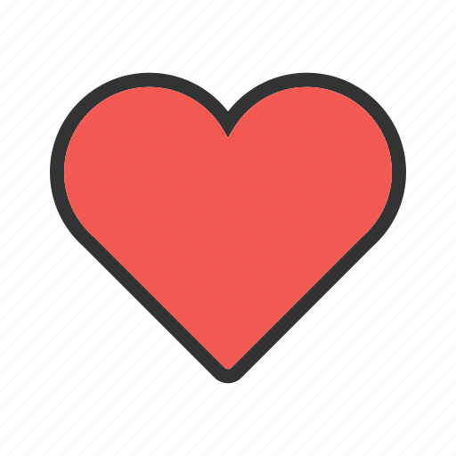 Card, design, heart, hearts, love, red, single icon - Download on Iconfinder