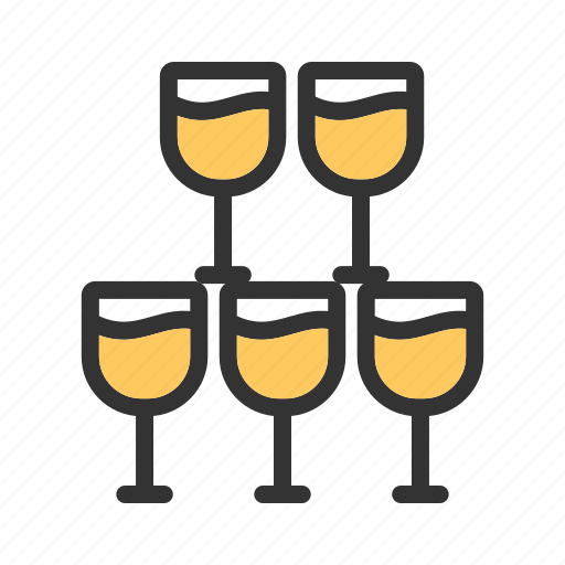 beer, champagne, glass, goblet, wine, wineglass icon
