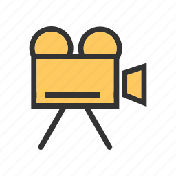 camcorder, camera, digital, lens, media, production, video icon