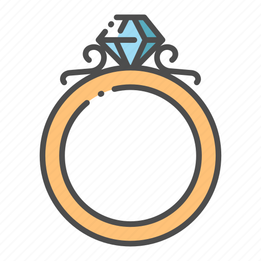 Diamond, jewel, jewelry, luxury, ring, romance, wedding icon - Download on Iconfinder
