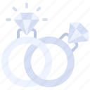 diamond, engagement, love, marriage, rings, romance, wedding