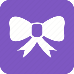 birthday, bow, card, gift, red, ribbon, tie icon
