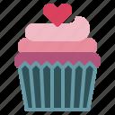 baked, bakery, cupcake, dessert, muffin, restaurant, sweet icon