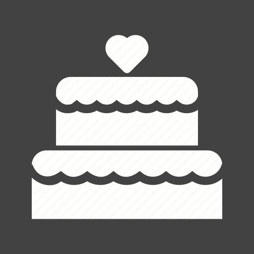 beautiful, cake, decoration, icing, ribbon, style, wedding icon