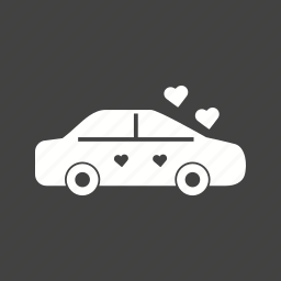 beautiful, beauty, car, decoration, flowers, holiday, wedding icon