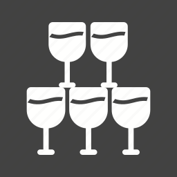 beer, celebration, champagne, glass, goblet, wine, wineglass icon