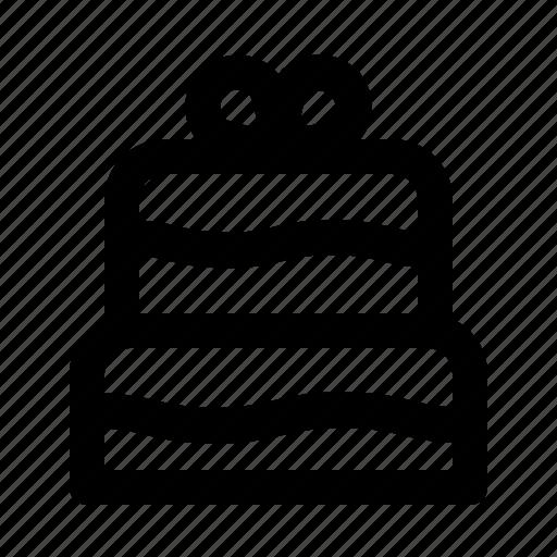 cake, food, wedding, wedding cake icon