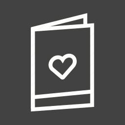 anniversary, card, day, design, invitation, shower, wedding icon