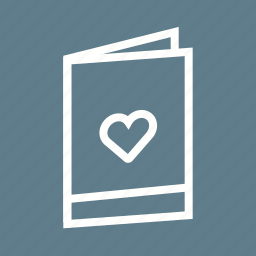 anniversary, card, design, invitation, shower, wedding icon