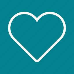 card, design, heart, hearts, love, single, valentine icon