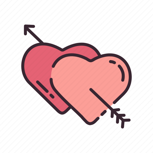 heart, hearts, love, passion, valentine, valentines, wedding icon