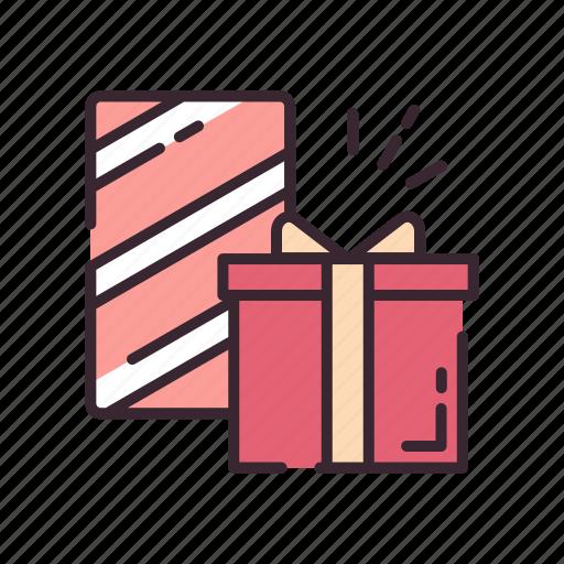 celebrate, celebration, gift, gifts, present, ribbon, wedding icon