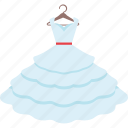 dress, gown, marriage, wedding icon