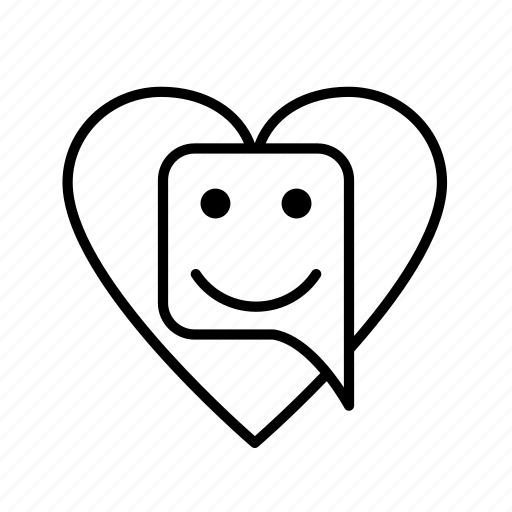 chat, love, mail, talk icon