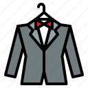 clothing, fashion, romantic, suit, wedding icon