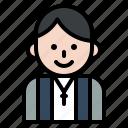 avatar, priest, romantic, valentine, wedding icon