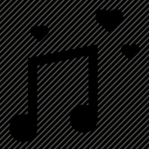 music, music note, note, romantic, wedding icon