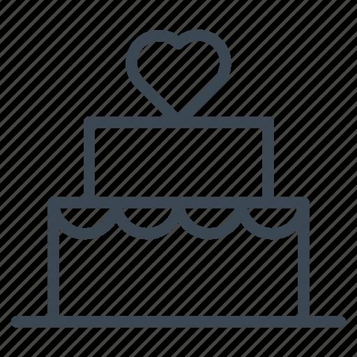 bakery, birthday, cake, tart, valentine, wedding icon
