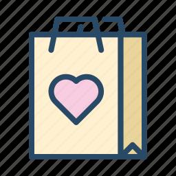 bag, hangout, shopping, tote, wedding icon