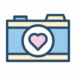 camera, image, media, photograph, wedding icon