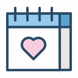 appointment, calendar, date, event, marriage, wedding icon