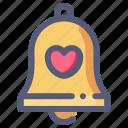 bell, church, engagement, love, wedding