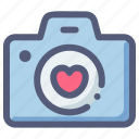 camera, love, photo, valentine, wedding icon