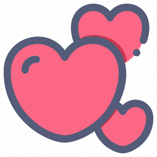 heart, love, romantic, valentine, wedding icon