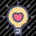 bulb, lamp, love, valentine, wedding