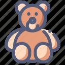 bear, child, gift, romance, teddy, toy