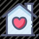 heart, home, house, love, marriage, wedding