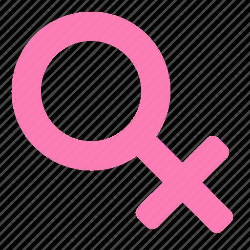 female, gender, girl, sex, women icon