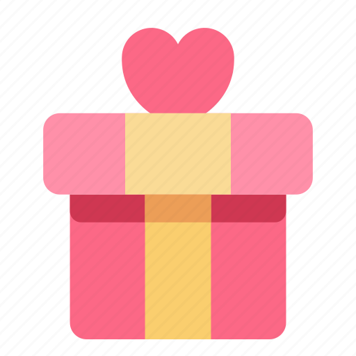 box, gift, love, present icon