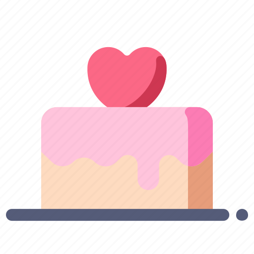 cake, love, marriage, valentine, wedding icon