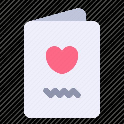 card, greeting, invitation, love, wedding icon