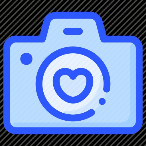camera, love, photo, valentine, wedding icon