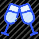 beverage, champagne, drink, glass, wine icon