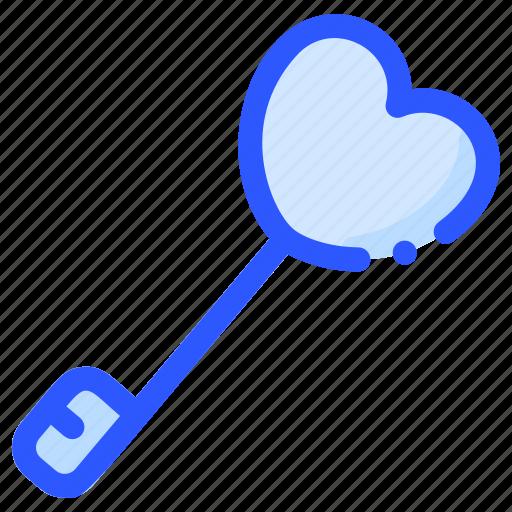 engagement, key, lock, love, valentine icon