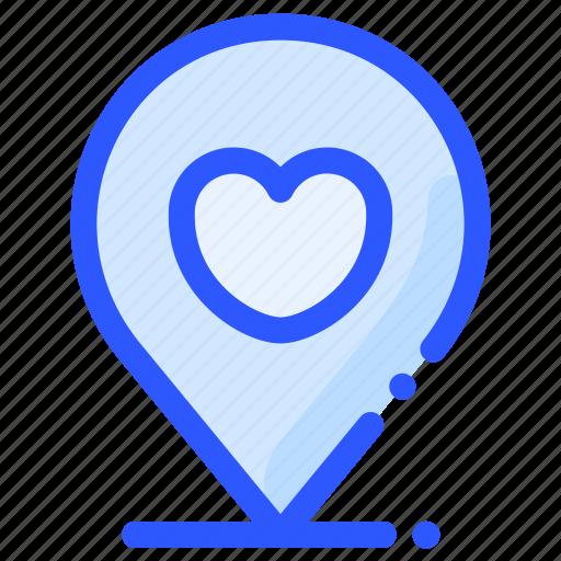 location, love, map, pin, wedding icon