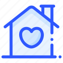 heart, home, house, love, marriage, wedding icon