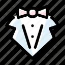 groom, marriage, tuxedo, wedding icon