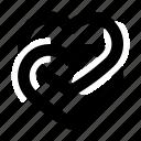 hearts, love, marriage, romance, wedding icon