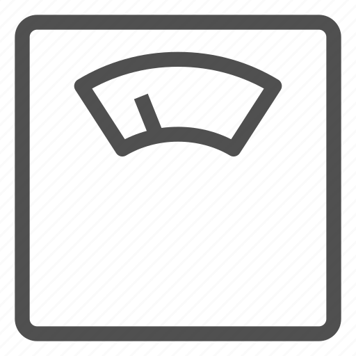 balance, fitness, floor, household, measuring, scales, weigher icon