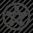 car, disk, metal, welding, wheel icon