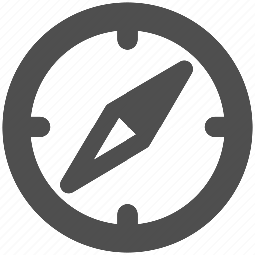 app, compass, location, web, website icon