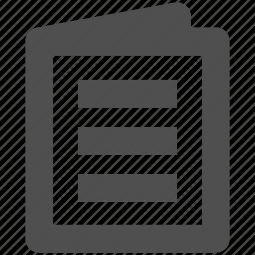 app, book, paper, web, website icon