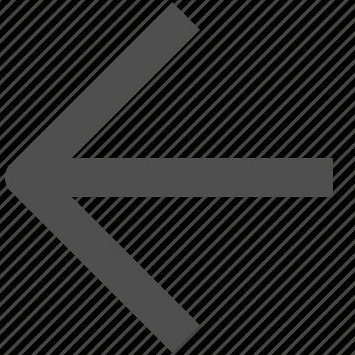 app, arrow, back, chevron, web, website icon