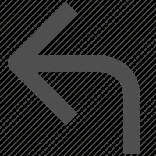 app, arrow, back, web, website icon