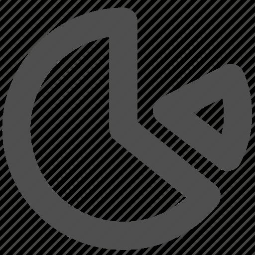 app, chart, pie chart, web, website icon