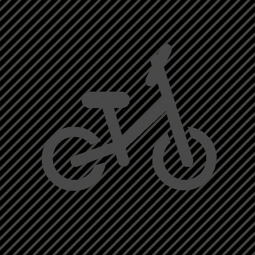 balance, bike, children, classic, individual, sport, transport icon